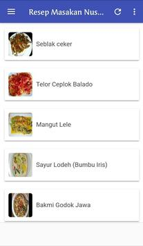 Resep Masakan Nusantara Terlengkap screenshot 4
