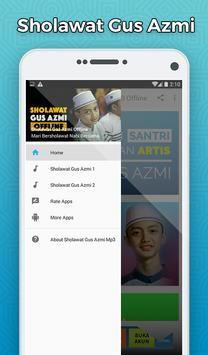 Sholawat Gus Azmi Mp3 Offline - Santri Bukan Artis poster