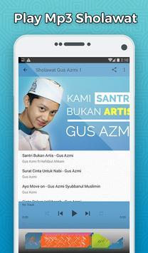 Sholawat Gus Azmi Mp3 Offline - Santri Bukan Artis screenshot 2