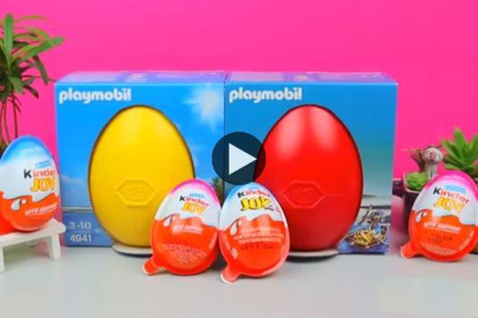 Surprise Eggs Toy Video screenshot 1