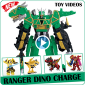 Ranger Dino Charge Toy Videos icon