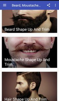Beard, Moustache And Hair Tips poster
