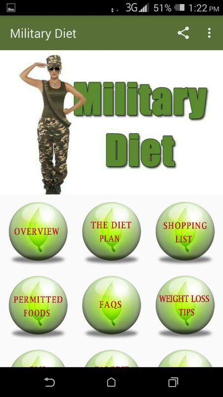 Military Diet For Android Apk Download