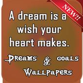 Dreams & Goals Wallpapers icon