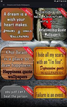 Dreams & Goals Wallpapers poster