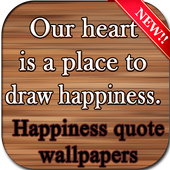 Happiness Quote Wallpapers icon