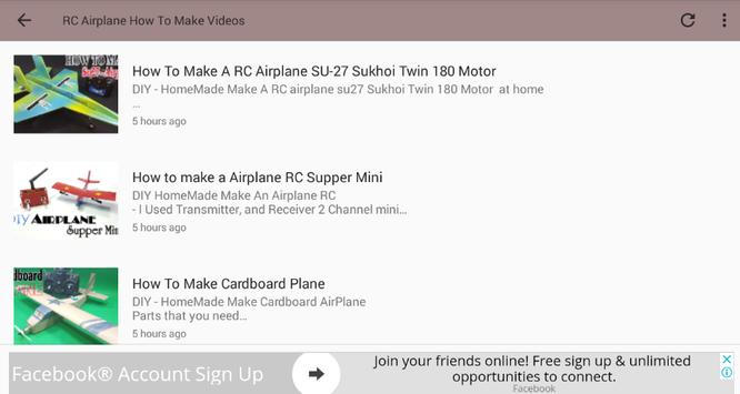 RC Airplane How To Make Videos for Android - APK Download