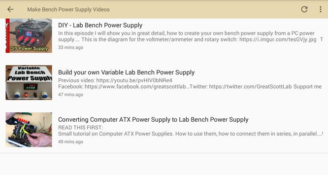 Make Bench Power Supply Videos screenshot 1