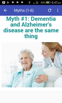 Myths About Alzheimer's Disease screenshot 2