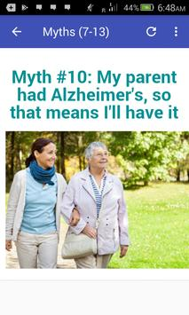 Myths About Alzheimer's Disease screenshot 7