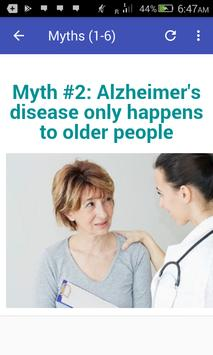 Myths About Alzheimer's Disease screenshot 6