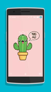 Cute Cactus Wallpaper screenshot 3