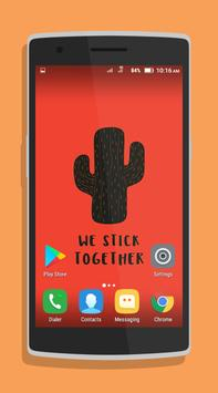 Cute Cactus Wallpaper screenshot 2