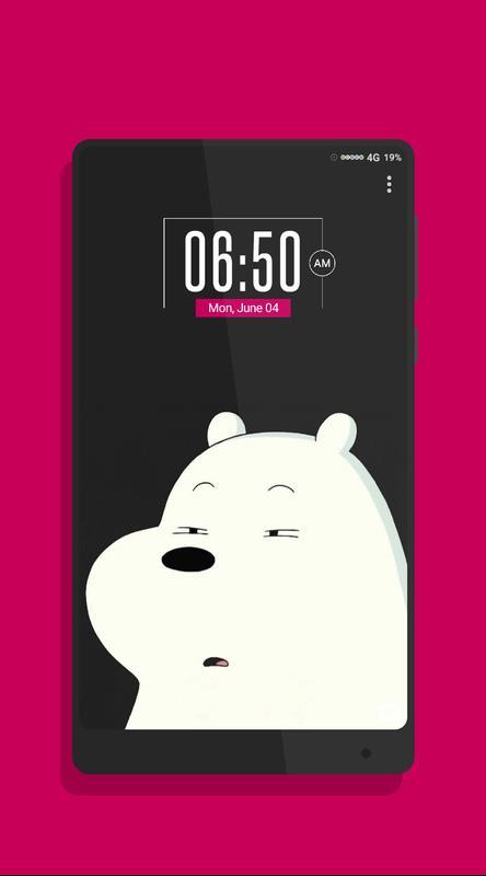 ... Cute Bear Wallpaper screenshot 3 ...