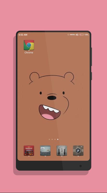 ... Cute Bear Wallpaper screenshot 4 ...
