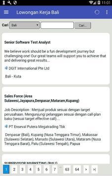 Lowongan Kerja Terbaru di Bali dan Terlengkap screenshot 2