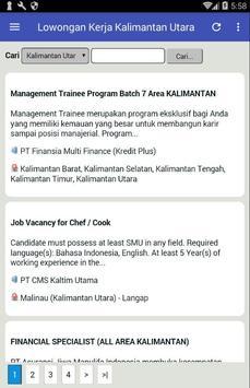 Lowongan Kerja Kalimantan Utara Terbaru screenshot 1