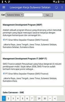 Lowongan Kerja Sulawesi Selatan Terbaru & GRATIS apk screenshot