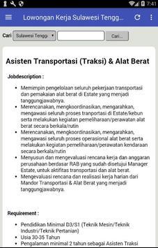 Lowongan Kerja Sulawesi Tenggara terbaru screenshot 2