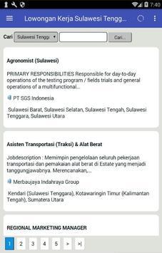Lowongan Kerja Sulawesi Tenggara terbaru screenshot 4
