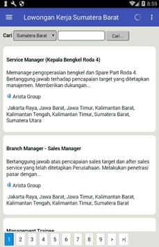 Lowongan Kerja di Padang & Sumatera Barat Terbaru screenshot 1
