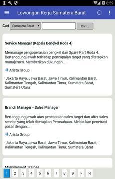 Lowongan Kerja di Padang & Sumatera Barat Terbaru screenshot 4