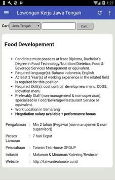 Lowongan Kerja Jawa Tengah screenshot 1