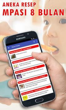 Variasi Menu MPASI 8 Bulan Perkembangan Tubuh Anak Ekran Görüntüsü 1
