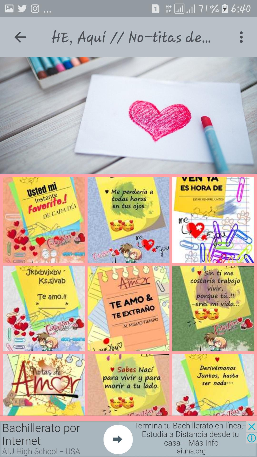 Notitas De Amor Frases For Android Apk Download
