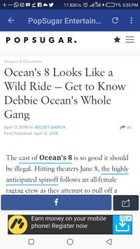 Hollywood News and Gist screenshot 1