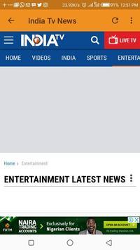 Indian Entertainment News screenshot 2
