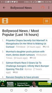 Indian Entertainment News screenshot 4