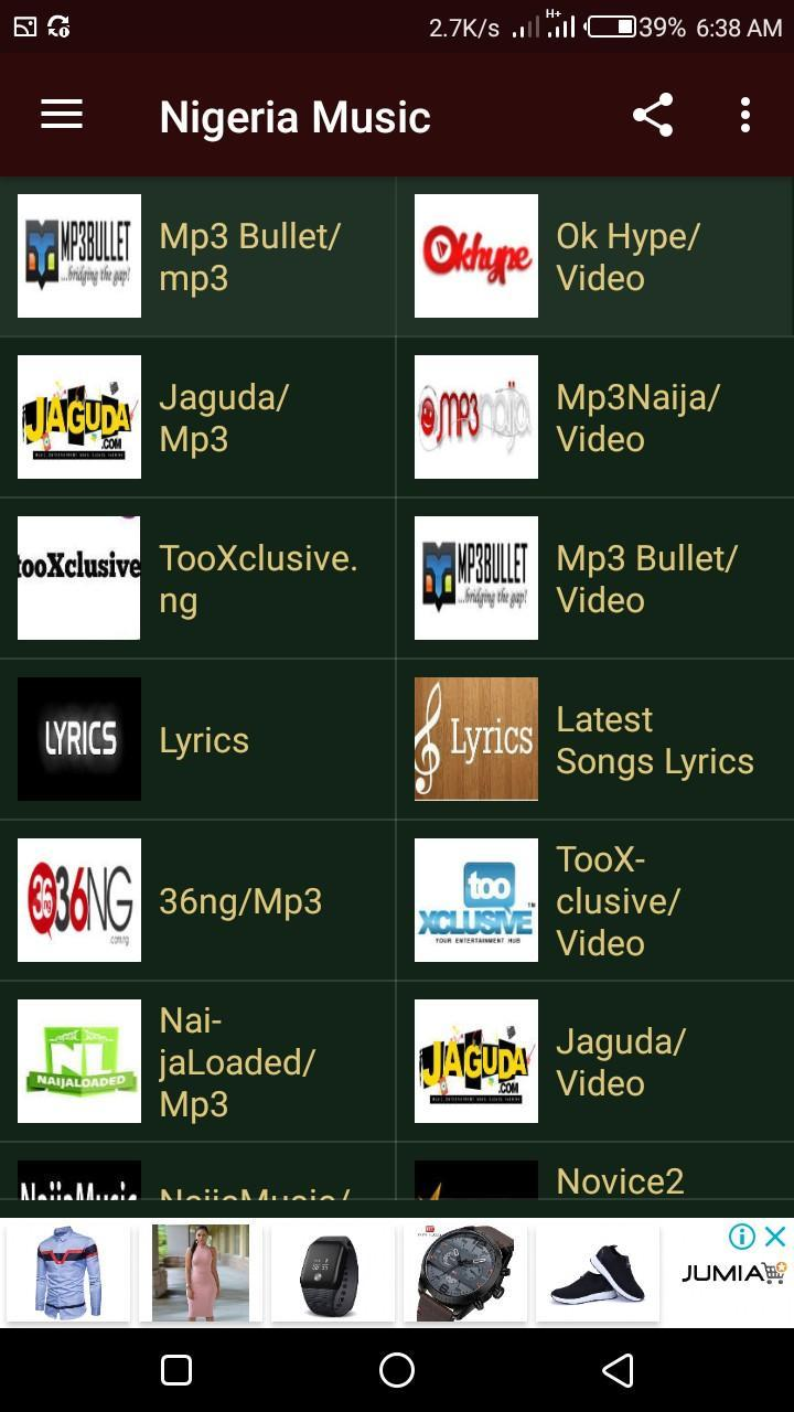 All Nigeria Music - Downloads and Listen for Android - APK
