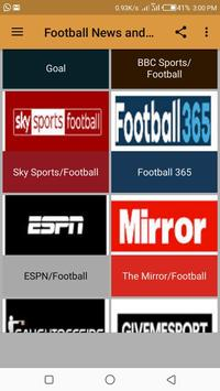 Football News and Updates screenshot 1