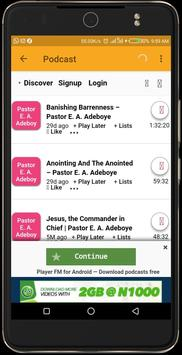 Pastor Enoch O  Adeboye - RCCG Sermons for Android - APK
