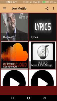 Joe Mettle Music - Songs and Lyrics screenshot 1