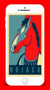 Bo Jack Horse Wallpaper poster