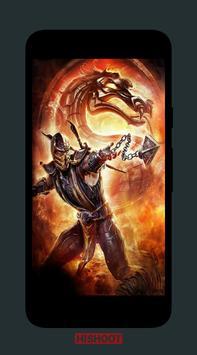 Sub Zero Scorpion Wallpaper Poster