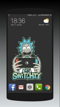 Rick Sanchez Morty Smith Wallpaper apk screenshot