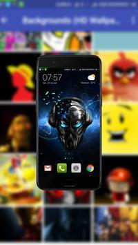 Backgrounds (HD Wallpapers) screenshot 4