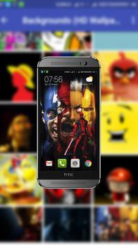 Backgrounds (HD Wallpapers) screenshot 5