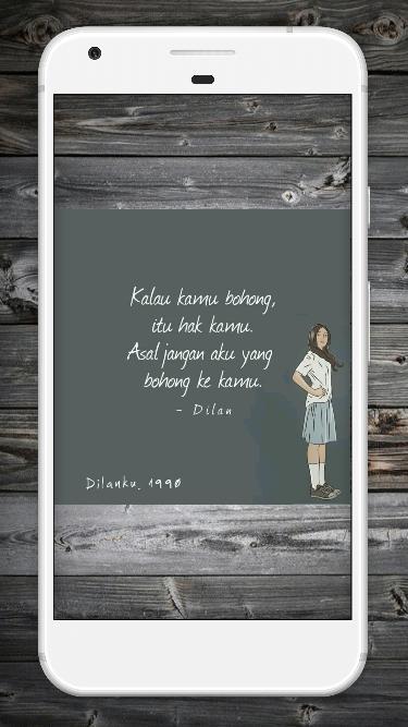 Kata Kata Dilan Für Android Apk Herunterladen