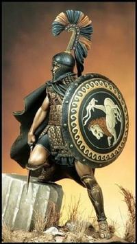 Wallpapers  Spartan Warrior HD poster