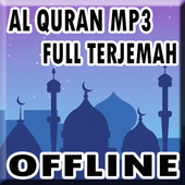 Al Quran Mp3 Suara Merdu Offline icon