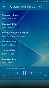 Al Quran Mp3 Suara Merdu Offline screenshot 3