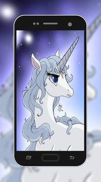 3D Unicorn HD Wallpaper screenshot 1