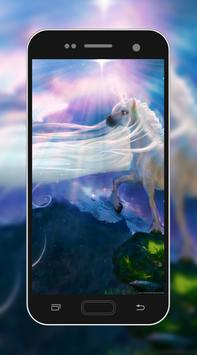 3D Unicorn HD Wallpaper screenshot 6