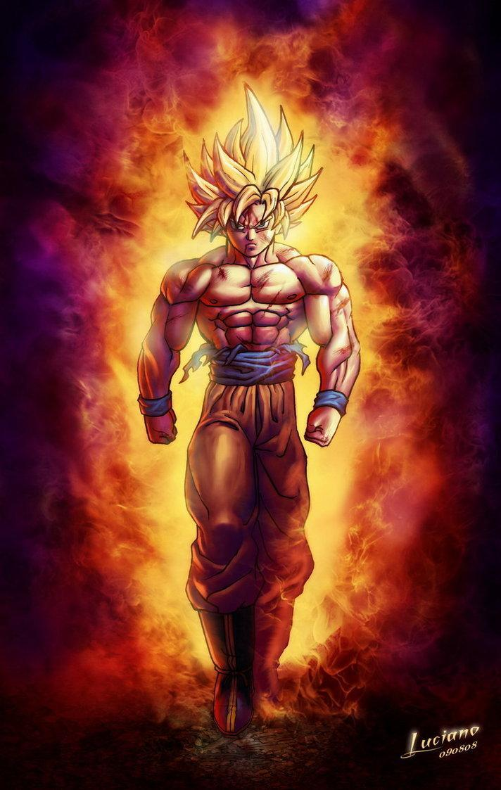 Son Goku Best Wallpaper Art Hd For Android Apk Download
