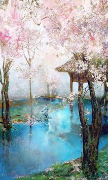Sakura Art Wallpaper screenshot 11