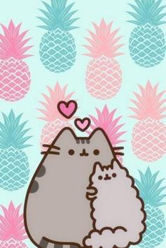 Cute pusheen cat wallpaper hd for android apk download - Cute wallpapers ...